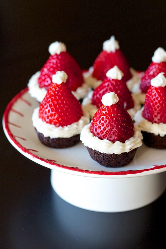 Santa Hat Brownies 2 2757 copy
