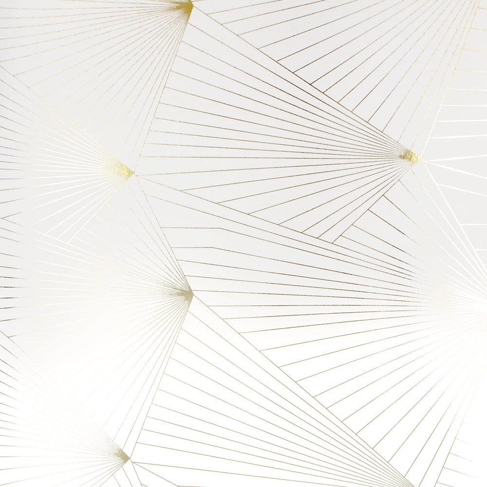 Gold and white wallpaper  Fan white gold wallpaper