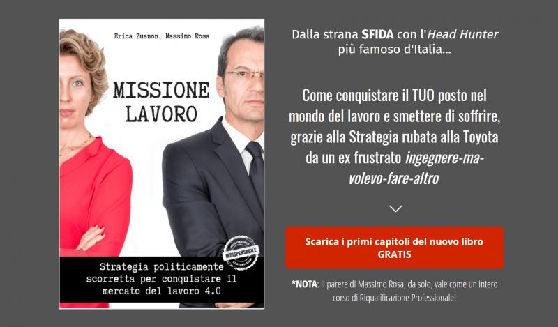Missione Lavoro - Massimo Rosa, Erica Zuanon