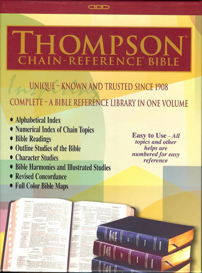 How to Navigate Your Thumb-Indexed Thompson Chain-Reference Bible
