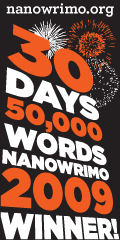 NaNoWriMo 2009 Winner Icon (Tall)