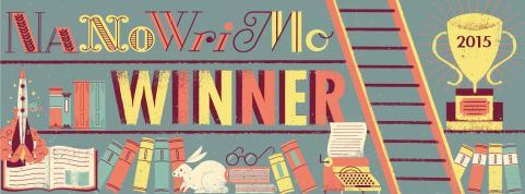 NaNoWriMo Winner 2015 banner