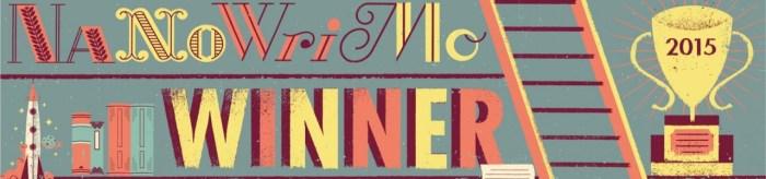 NaNoWriMo Winner banner