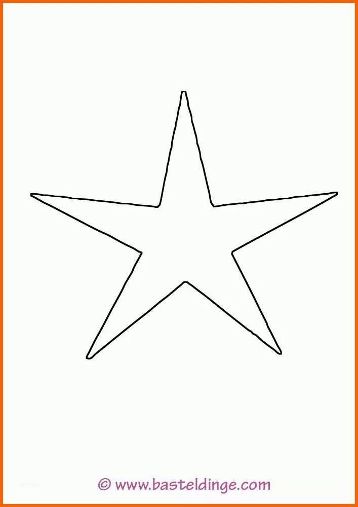 Allerbeste 5 Zacken Stern 396 Malvorlage Stern