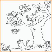 Überraschen Baum Ausmalbild Malvorlage Blumen with Regard ...
