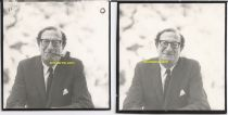 Eric Berne Two Proof Photographs Pictures assumed to be late 1960s