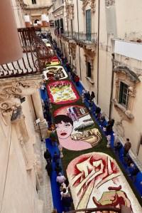 Festa dei fiori - Noto, Sicilië