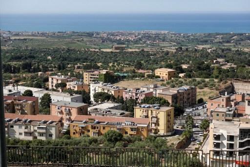 Uitzicht Agrigento
