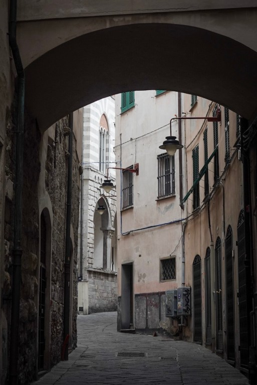 Straatje in Genua (2)