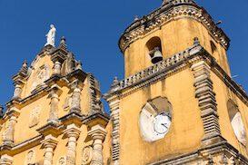Nicaragua-gele kerk