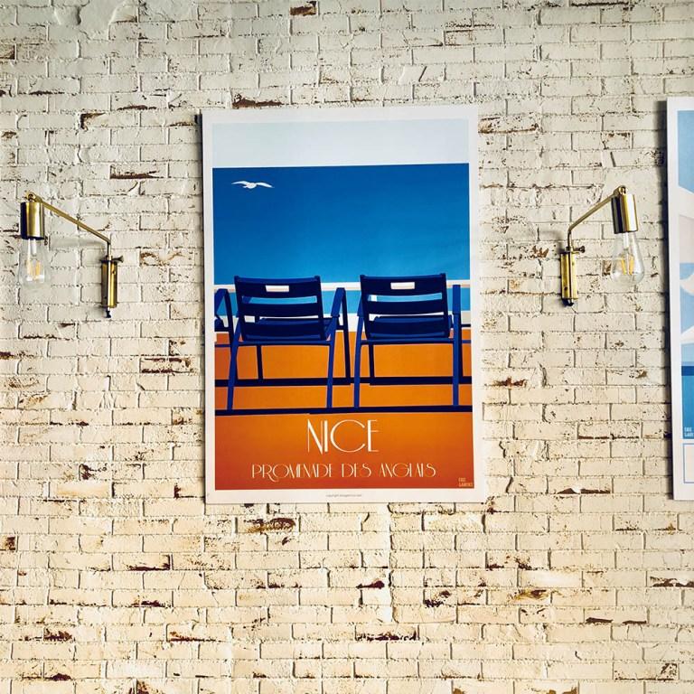Expo_Nice_Garence_Affiche_Artiste_Nicois_Art_NissalaBella_Déco_Poster_Artwork_Modern-02