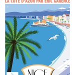 Hotel Soco Exposition Garence Eric Artiste niçois Affiche Art Casino Promenade Affiche Nice I love nice