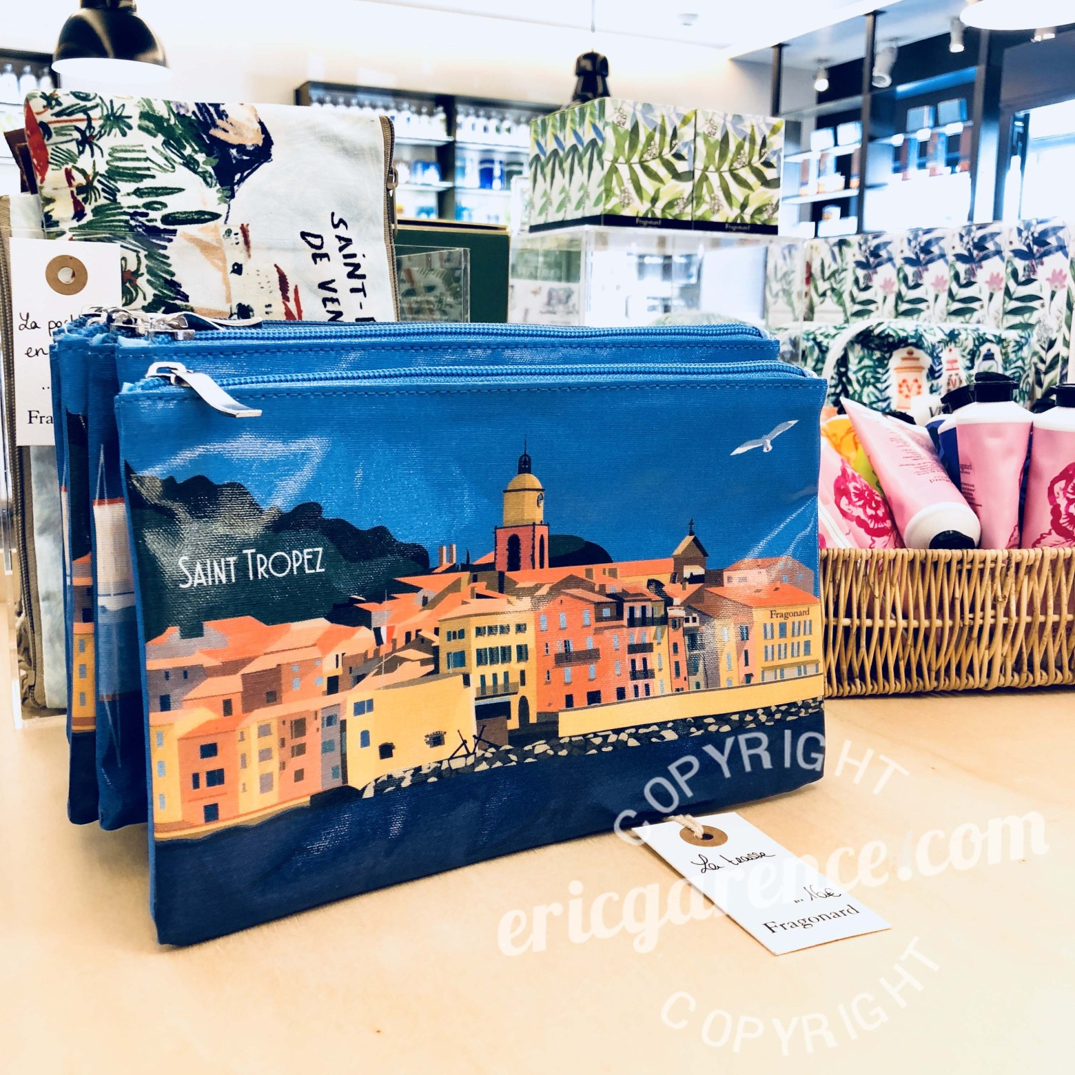Saint Tropez Fragonard Eric Garence Cote d'azur French Riviera Collection Parfum Cadeau Eau