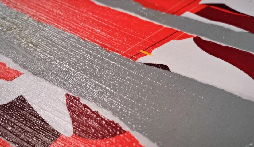 Eric Garence Phoenix Art Contemporain Nice Artist Tableau Affiche déchirée MAMAC Happening8