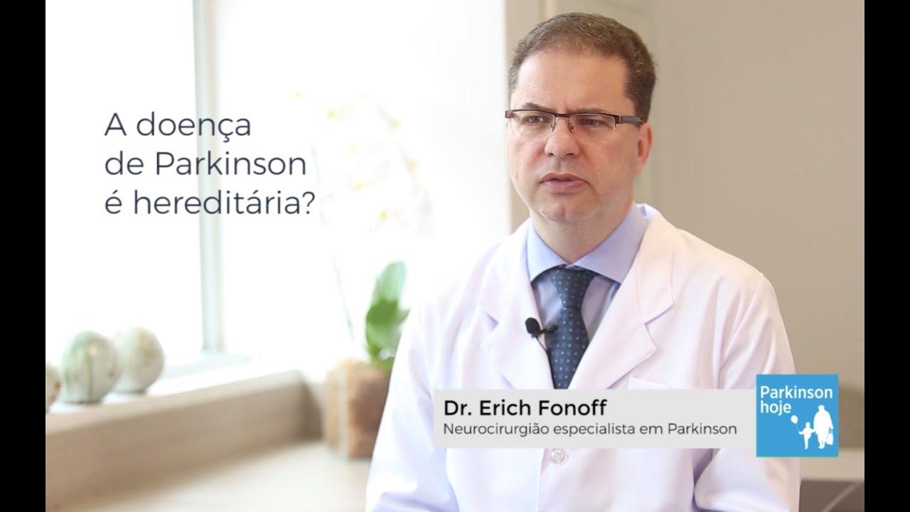 Dr. Erich Fonoff Responde sobre hereditariedade no Parkinsoon