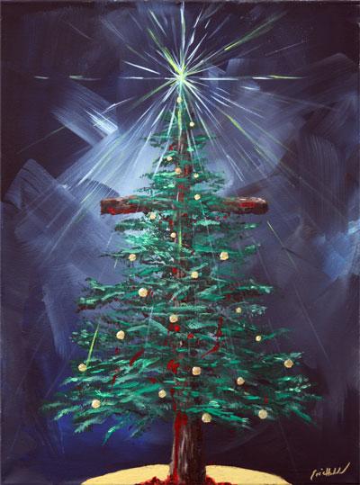 eric holmlund christmas cross