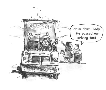 The Stresses of Truck Driver Testing