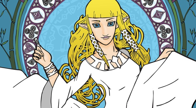 Turning Zelda into Art Nouveau