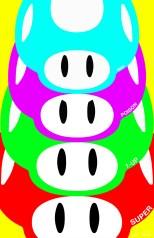 Warhol Mushroom