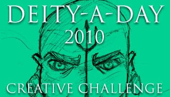 Deity-A-Day 2 | Poseidon