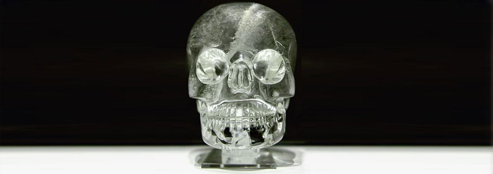 Crystal Skulls and Holographic Data Storage