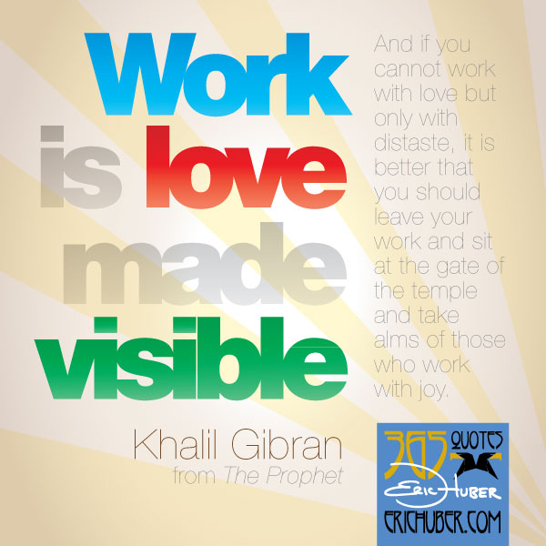 Khalil Gibran Archives - Eric Huber's Mighty Creative Stuff