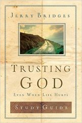 A must-have companion to Trusting God (Even When Life Hurts). Trust me. You won't regret getting the study guide with its stellar prompts, additional Scripture, action items and more. I still have mine all these years later. It's pages are where the rubber met the road for me.