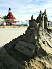 Sand Castle Hotel Del Coronado Mind Of