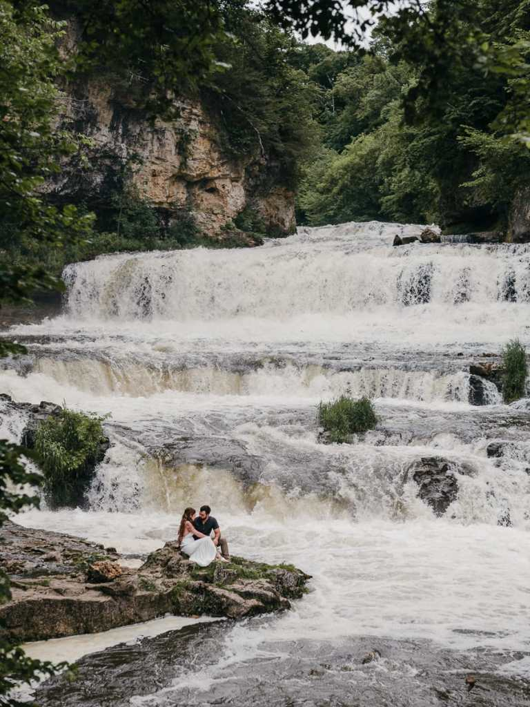 Willow River Engagement Session