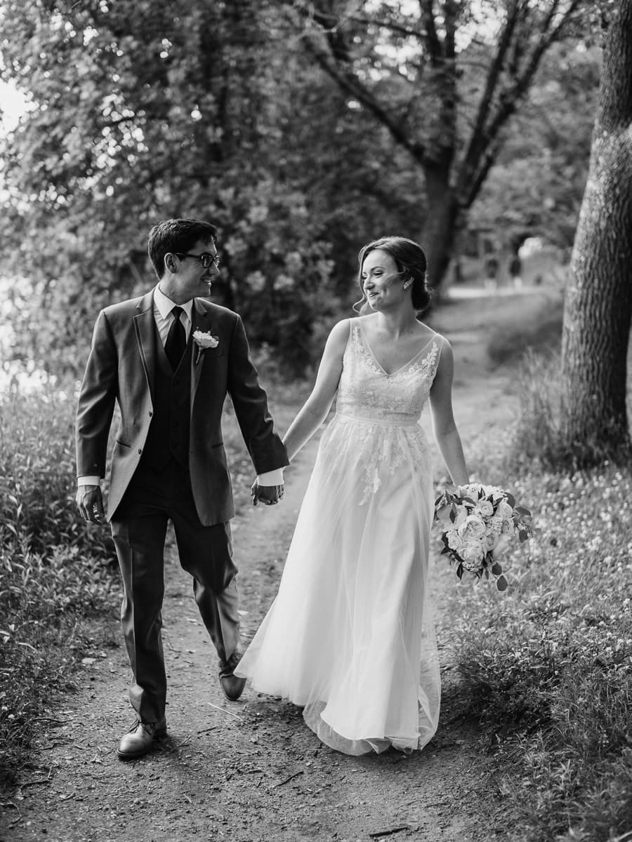 Lake Harriet Wedding