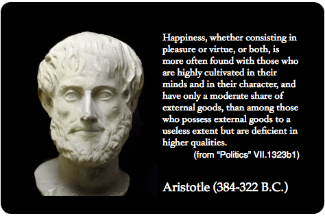 happiness and virtue in the book nicomachean ethics by aristotle Aristotle's ethics: top ten quotes, free study guides and book notes including   references are to aristotle, the nicomachean ethics, trans  we have  discovered the function of man we find that happiness is the virtuous activity of  the soul.