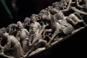 suzhou museum ivory tusk detail 2
