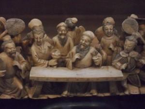 suzhou museum ivory tusk detail