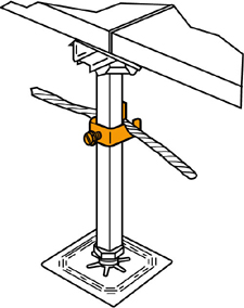 Signal Reference Grid Wire Clamp