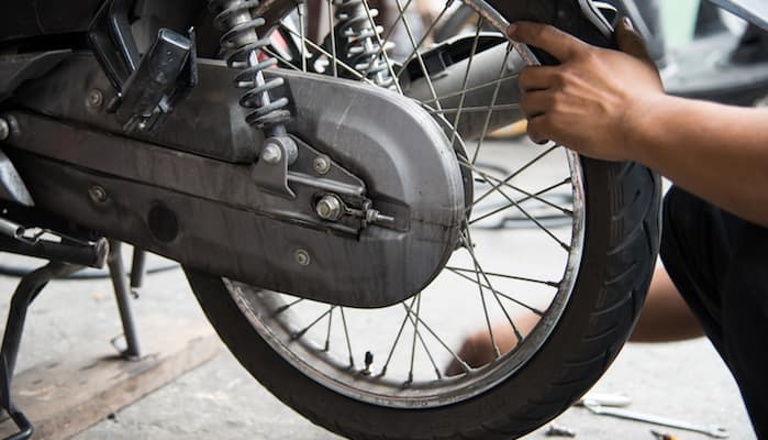 How To Change A Motorcycle Tire Erico