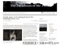 "Interview with ""The Paradoxes of Mr. Pond"""