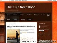 Guest Post on The Cult Next Door