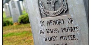 Poetry: Harry Potter and the Evocative Epitaphs
