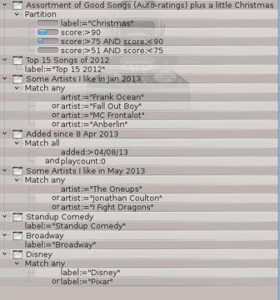 Amarok Dynamic Playlists 2