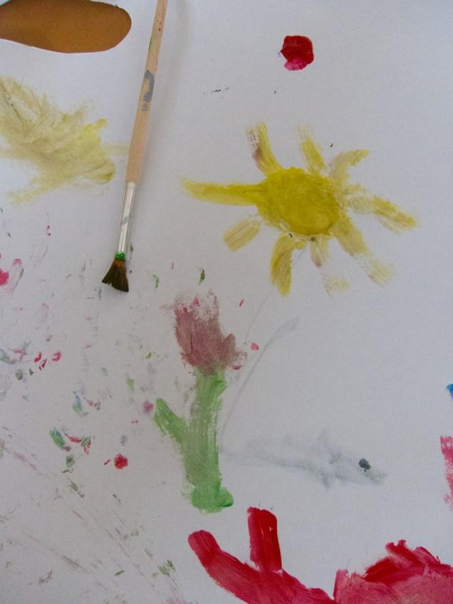 Flower and Sun