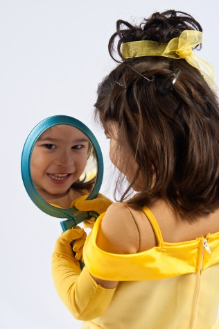 Belle Looks in the Mirror 2