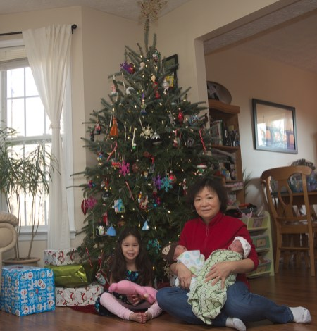 Kids and Maternal Grandma