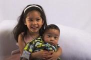 Scarlett and Sam on Easter!