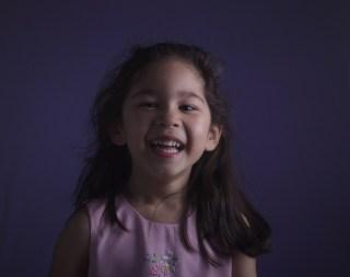 Scarlett's Purple Easter Photos