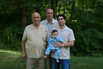 Four Generations of Mesa Men