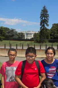 At the White House!