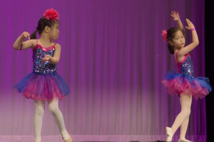 The ballet portion of the recital