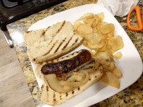 America's Test Kitchen Beer Braised Bratwurst