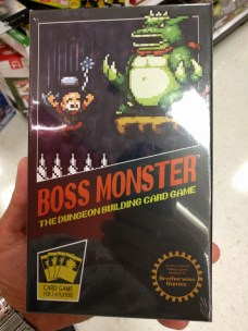 Boss Monster - obviously aping the Nintendo cartridge boxes