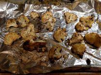 Curry-Mint Roasted Cauliflower